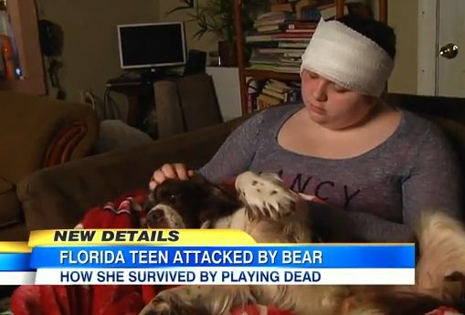 When This Teen Girl Was Attacked By A Black Bear, Her Brave Dog Saved The Day