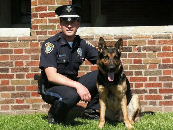 On A Dying K9 Officer's Final Day, The Force Said Goodbye (Get Your Tissues)