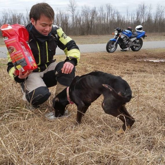 What Bikers Randomly Discovered Hidden On The Side Of The Road Broke My Heart