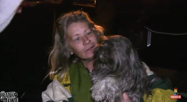 Homeless Man and His Dog Receive Gift of a Lifetime