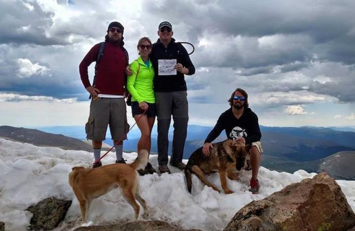 13 Hikers Saved By Dog After Lightning Strikes Down On A Mountain