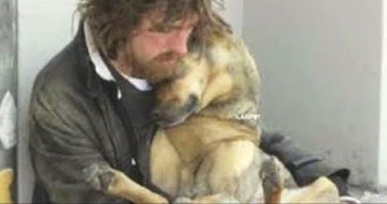 This Man Is Homeless – What The Dog Does Filled My Eyes With Tears