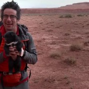 They Were Biking Through The Desert…And Heard A Noise They Never Expected