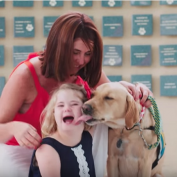 Commercial Beautifully Captures The Love Between A Down Syndrome Girl & Her Service Dog