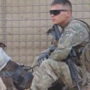 Sheriff's Dep and Former Soldier Fight Over Custody of Dog