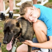 Boy With Autism And His Service Dog Are An Incredible Cross Country Running Duo
