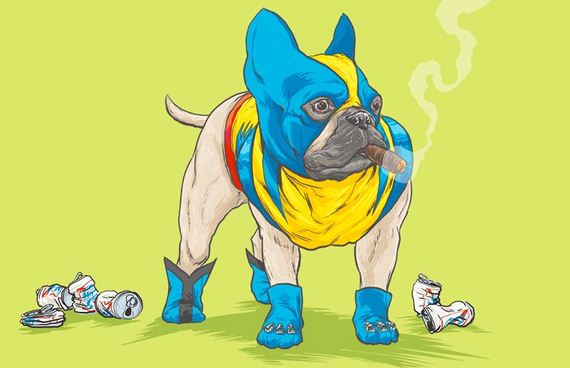 All of Your Favorite Marvel Characters Are Now Dogs