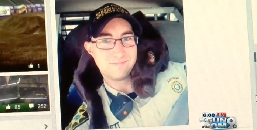 K-9 Embraces A Deputy In A Heartwarming Selfie — And Now The Photo Is Going Viral!