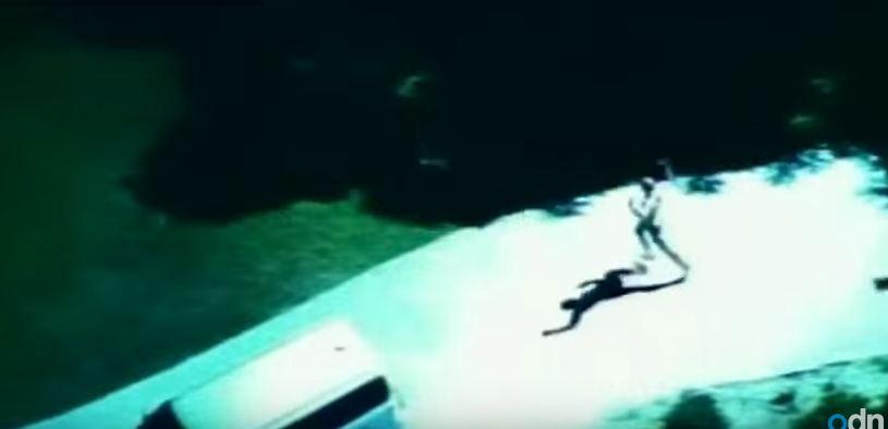 Naked Robber Apprehended by Police Dog