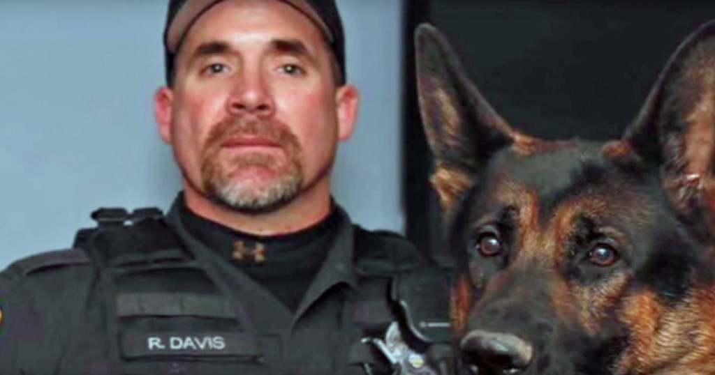 The HERO Police Dog Who Fought To Protect Us Lost His Life. This Is His Tribute.