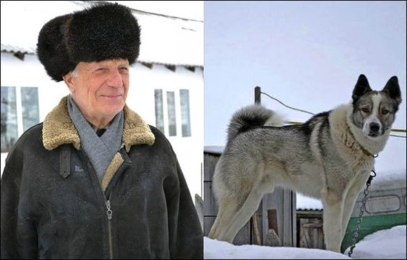 Elderly Man Rescued from Ice Hole by Dog