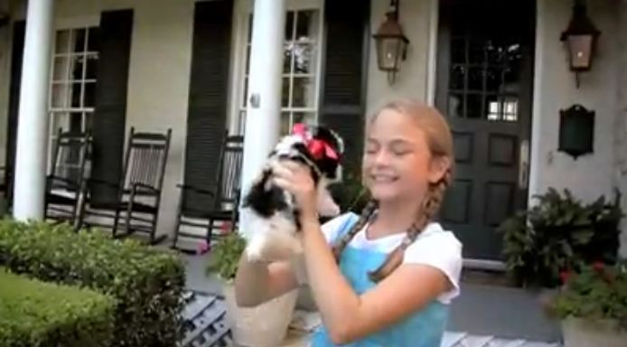 The Girl Just Got A Puppy, But What She Doesn't Realize? OMG