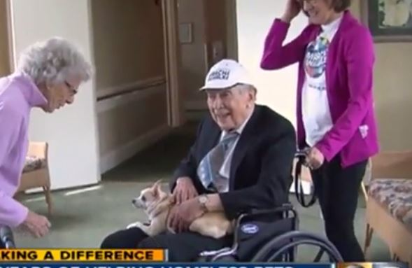 93-Year-Old Man Dedicates His Time To Caring For Homeless Animals
