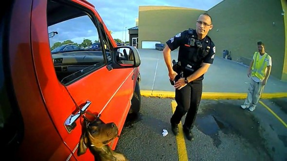 Quick-Thinking Police Officers Heroically Save the Life of a Hanging Dog