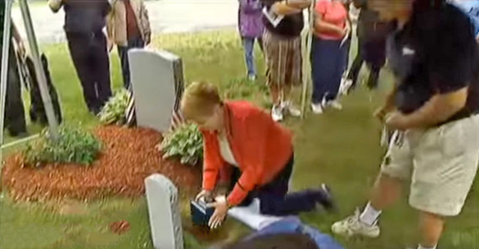 Mom Buries Beloved German Shepherd's Ashes. When She Reveals His Tombstone, Unbelievable…