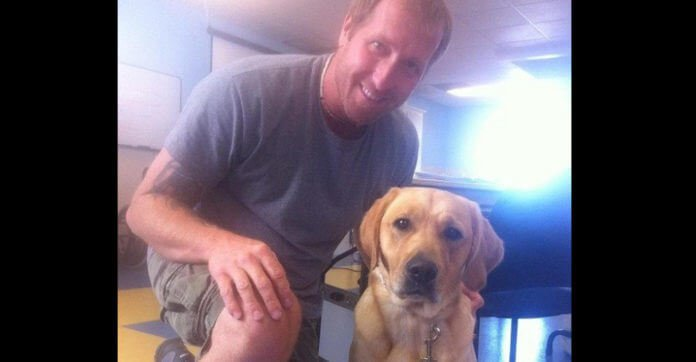 Disabled Veteran Leaves Coffeehouse Humiliated After They Question His Need For His Service Dog