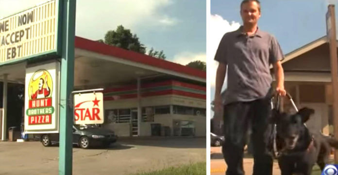 Employee Humiliates Blind Man By Kicking Him And His Service Dog Out Of Convenience Store