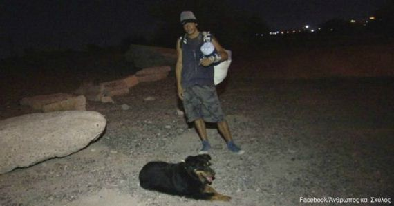 Meet Hank, the Blind Dog Who Saved a Man Trapped Beneath a 700-Pound Boulder