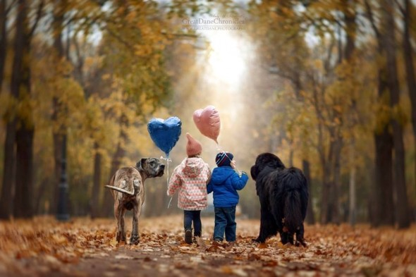 33-little-kids-and-their-big-dogs