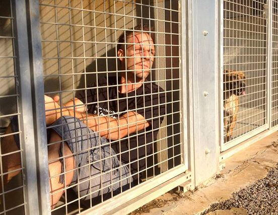 Man Has No Idea How Long He Will Have To Stay In This Animal Shelter