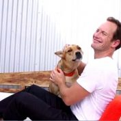 Patrick Wilson's Family Adopted the Dog from Hell, But Now She's Their Angel