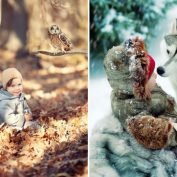 15 breathtaking moments captured between children and animals