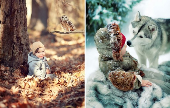15 breathtaking moments captured between children and animals