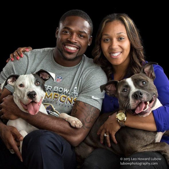 Torrey Smith and His Wife Paid to Cover Adoption Fees for 46 Dogs and Cats at a Shelter