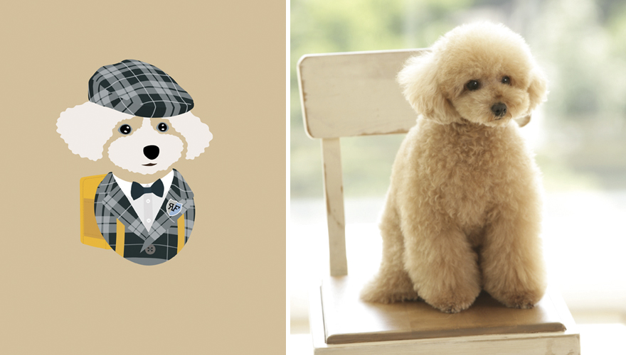 What If Dogs Dressed According To Their Personality