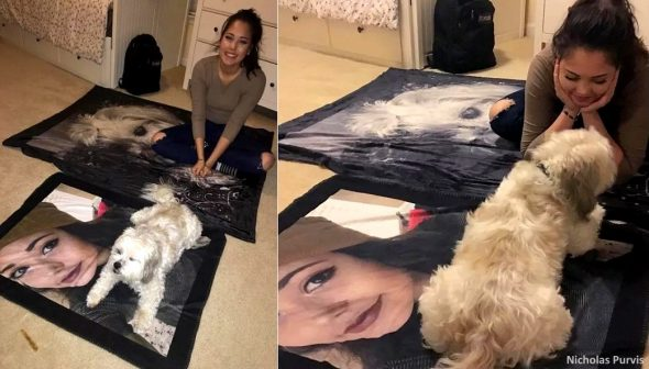 A Guy Bought His Girlfriend and Her Dog Matching Gifts, and It's Just the Cutest Thing