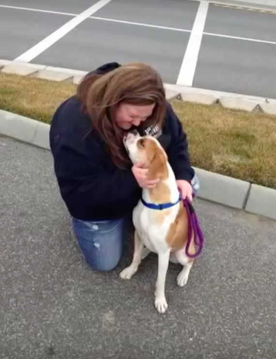 Foster Thinks She's Bringing The Dog To Meet Her New Mom, Then Cries When She Realizes It's Herself