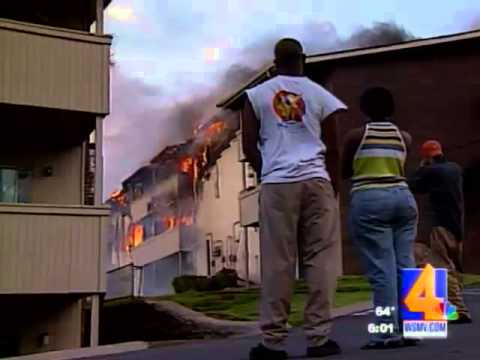 Man gets arrested for saving his dog from his burning house