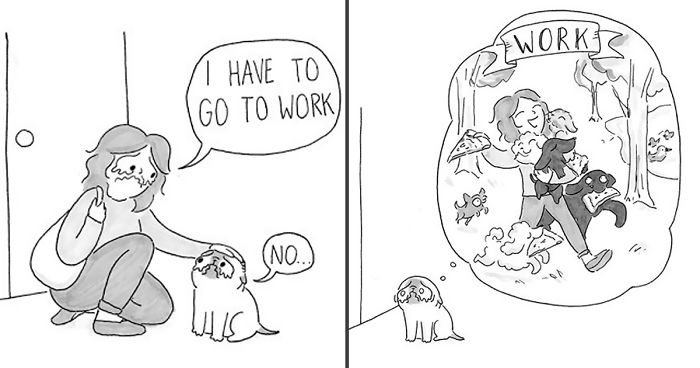 Adorable Comics That Hilariously Sum Up What It's Like Living With A Dog