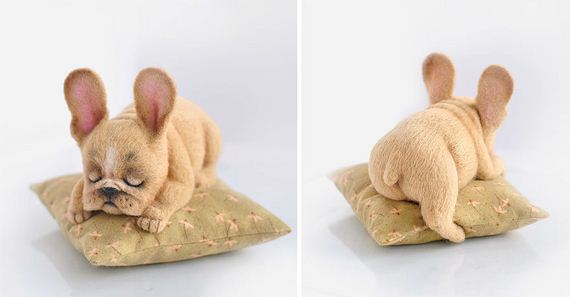 Russian Artists Create Adorable Felted Dogs That Have Their Own Characters