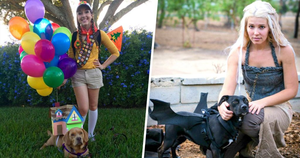 23 ingenious couples costumes you can wear with your dog this Halloween
