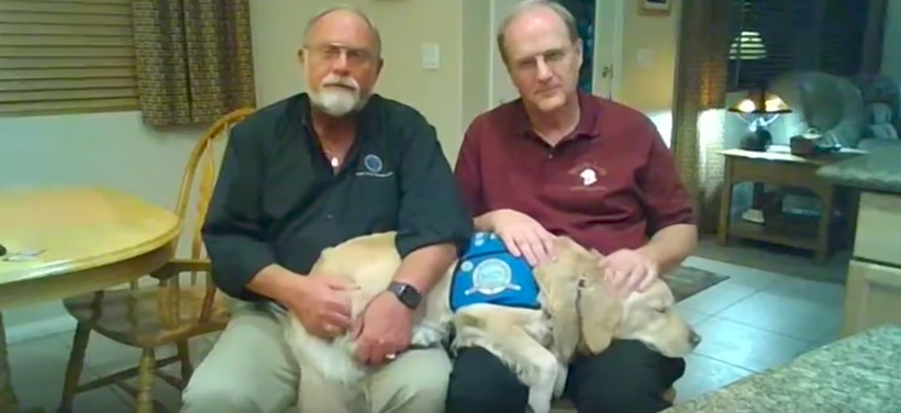 After Worst Shooting In Modern American History, Survivors Turn To These Dogs To Heal Them