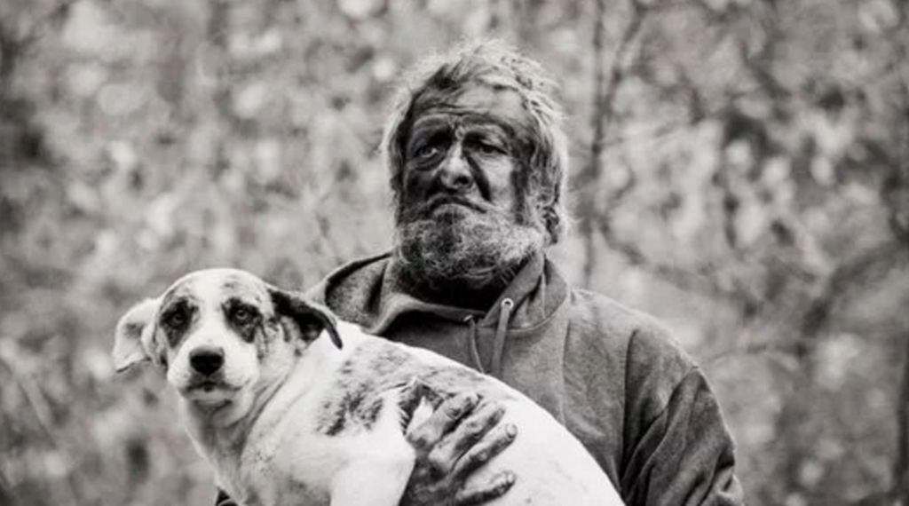 Homeless Man Cares For 31 Dogs In Woods Until He's Forced To Say Goodbye