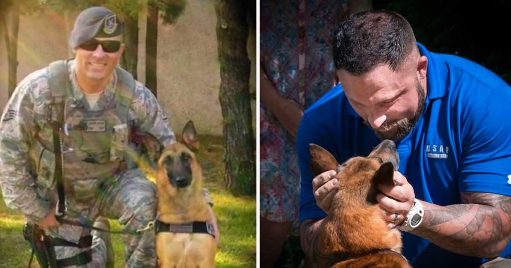 Military Dog Hasn't Seen Partner In Years. 17 Million Have Watched Her Recognize Him Instantly