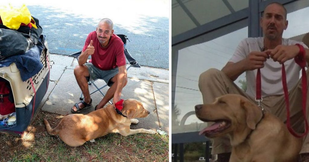 Man Loses Wife, Job, And Home – Then Community Wants To Take His Dog Away