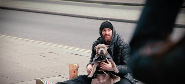 People Are Giving Winter Coats To Dogs Whose Owners Are Homeless