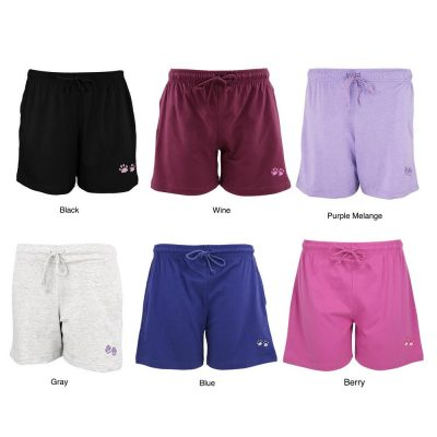 Purple Paw Women's Casual Shorts
