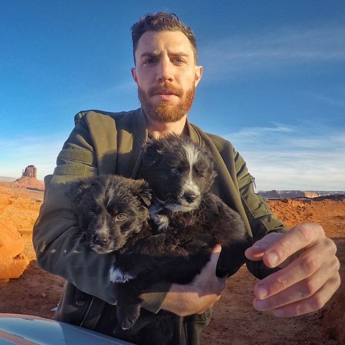 PUPDATE! Pups Found In The Arizona Desert Are Now Having All Kinds Of Adventures!