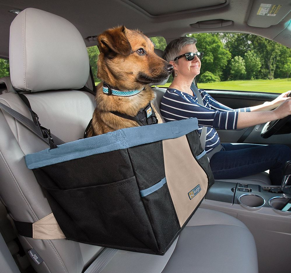 ShopSuppliesKurgo Skybox Dog Booster Seat For Cars And Car With Belt Tether