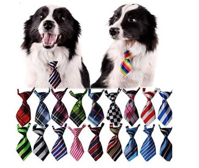 Bestag 30 Pcs/pack Cat Dog Bow Tie Collar