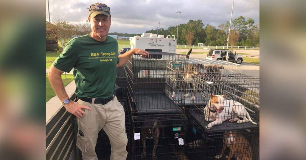 More Than 100 Animals, 2 People, Rescued From Top Floor Of Flooded Shelter