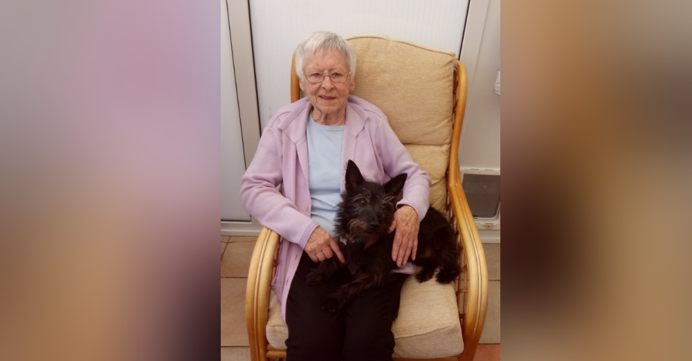 This Octogenarian Animal Rescuer Proves It's Never Too Late To Adopt An Older Dog