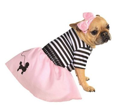 Pink Fifties Girl Pet Costume