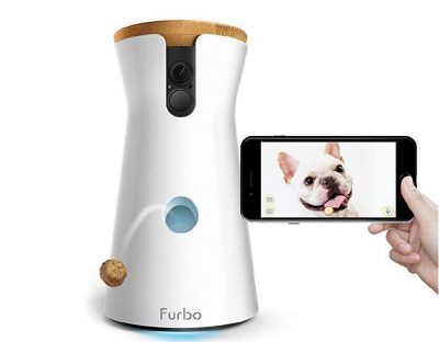 Furbo Dog Camera: Treat Tossing, Full HD Wifi Pet Camera