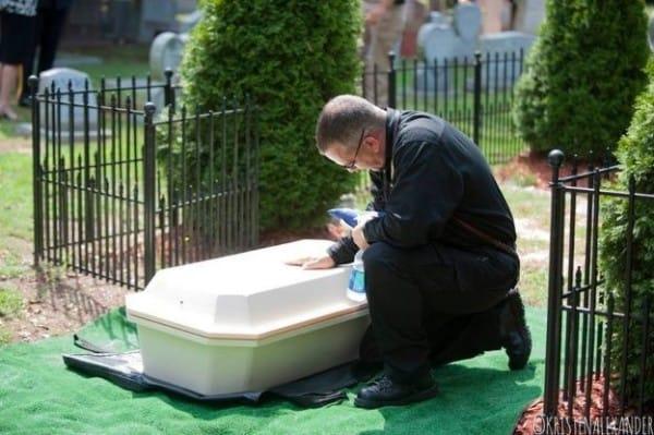 Heartbroken Cop Decides To Honor Fallen K-9 Partner, Goes To The Shelter