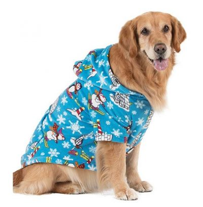 Footed Pajamas – Family Matching Polar Hoodie Onesies for Boys, Girls, Men, Women and Pets
